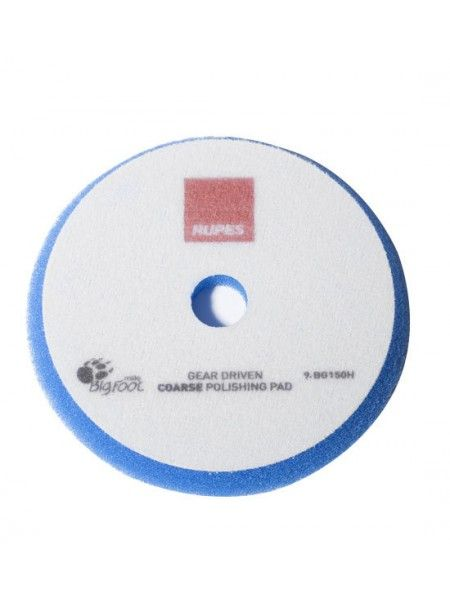 Rupes Диск полировальный MILLE COARSE (жёсткий), голубой, диаметр: 150/165 х 15мм.