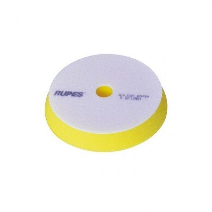 Rupes Диск полировальный MILLE FINE (мягкий), желтый, диаметр: 130/140 х 15мм.